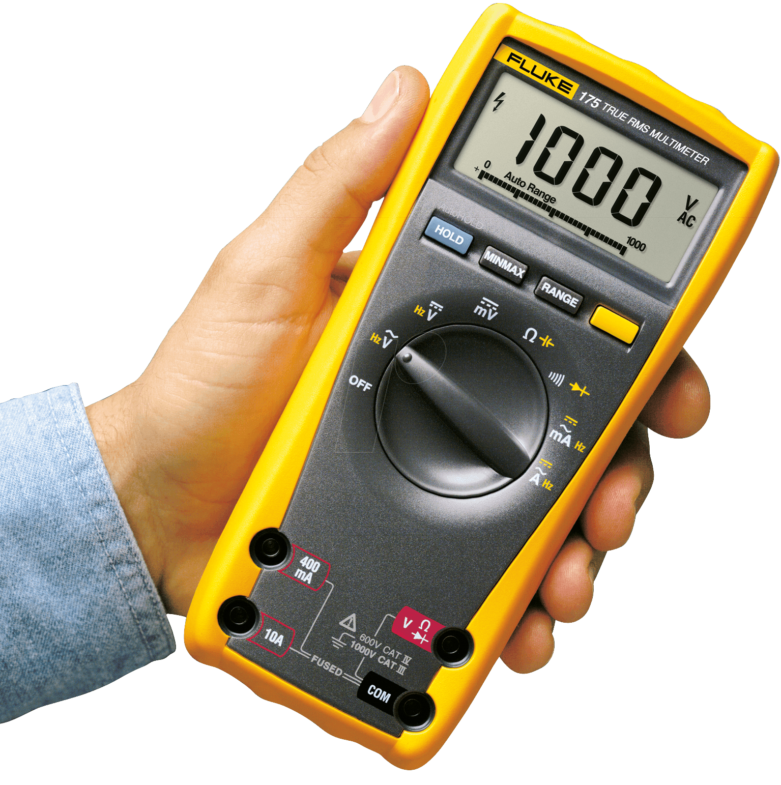 fluke 175 multimeter 175 digital 6000 counts bei