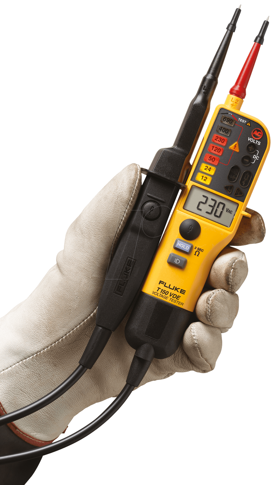 Fluke T150 Vde Voltage And Continuity Tester T150 Vde At