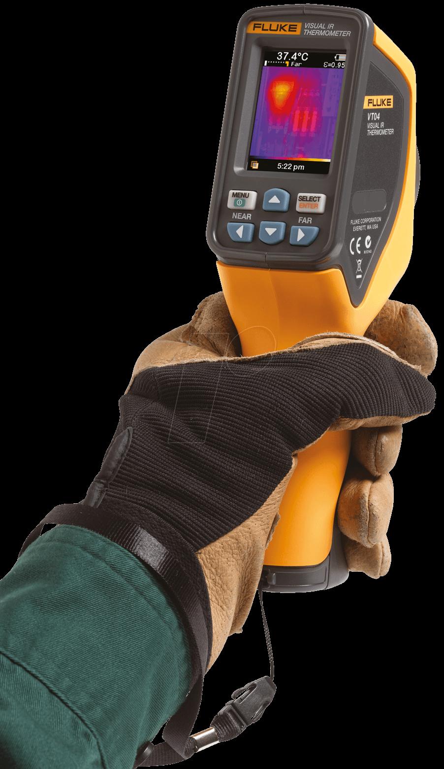 Fluke Vt04 Visual Ir Thermometer At Reichelt Elektronik Infrared 59 Max 4366444