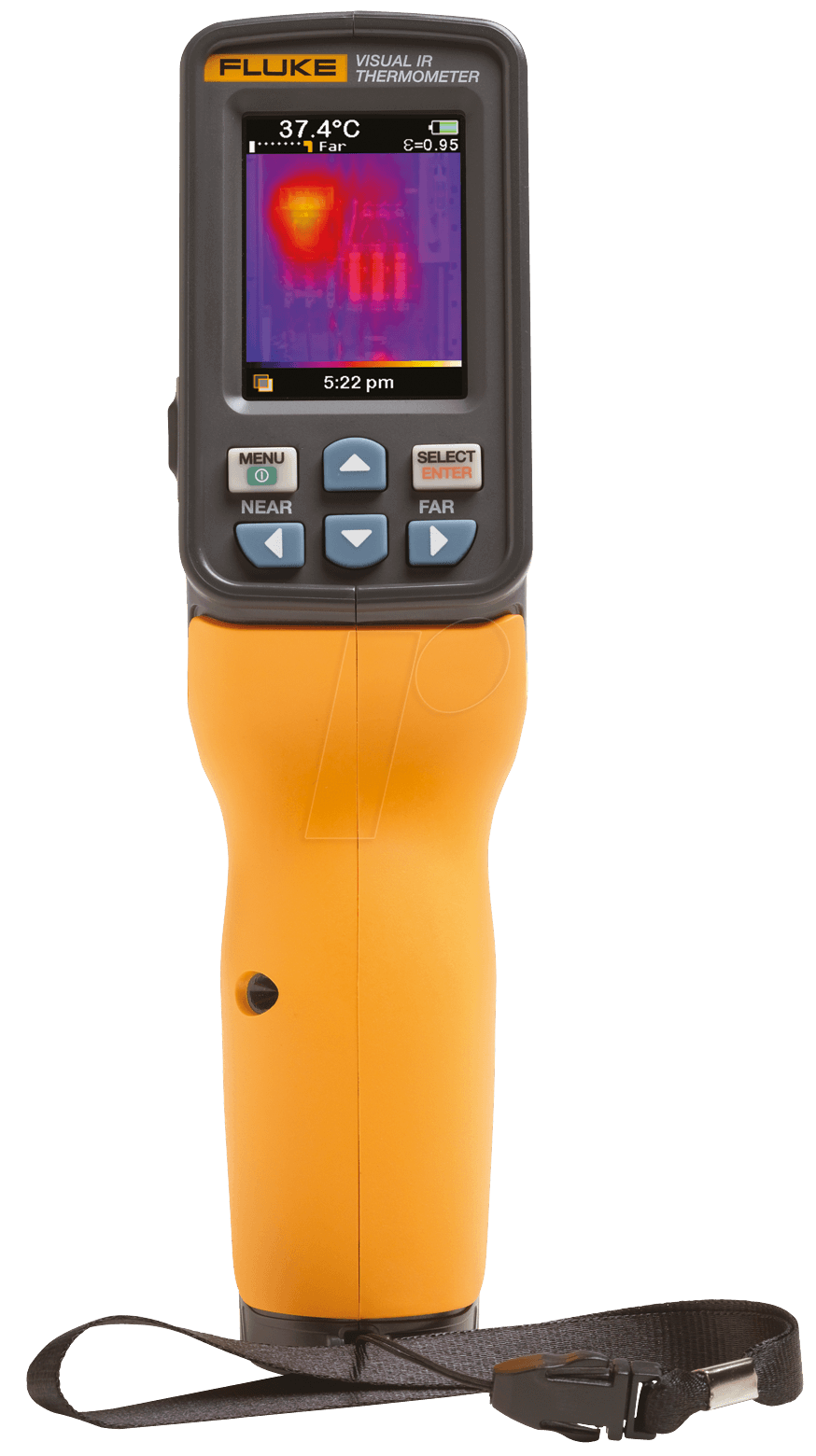 Moisture Probe For Fluke Multimeter : Fluke vt visual ir thermometer at reichelt