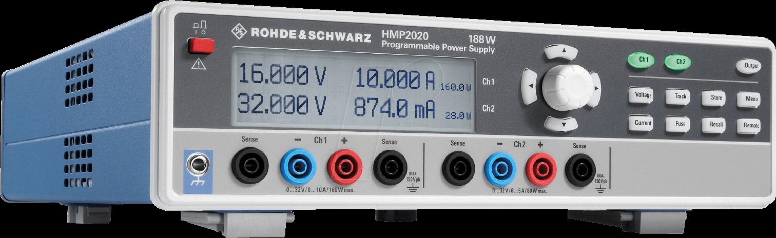 HMP 2020 - Laboratory power supply, 2 channel, HMP 2020
