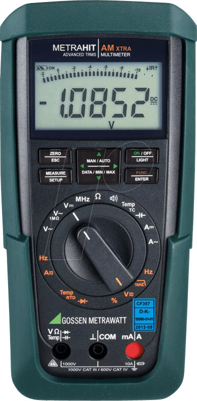 METRAHIT X-TRA - Multimeter METRAHIT AM X-TRA, digital, 12000 Counts, TRMS