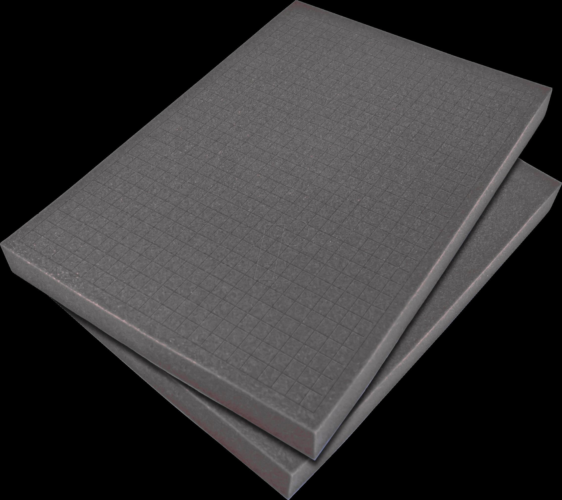 PEAKTECH 7310 S - Würfelschaumeinlage für PeakTech 7310, 440 x 315 x 30 mm