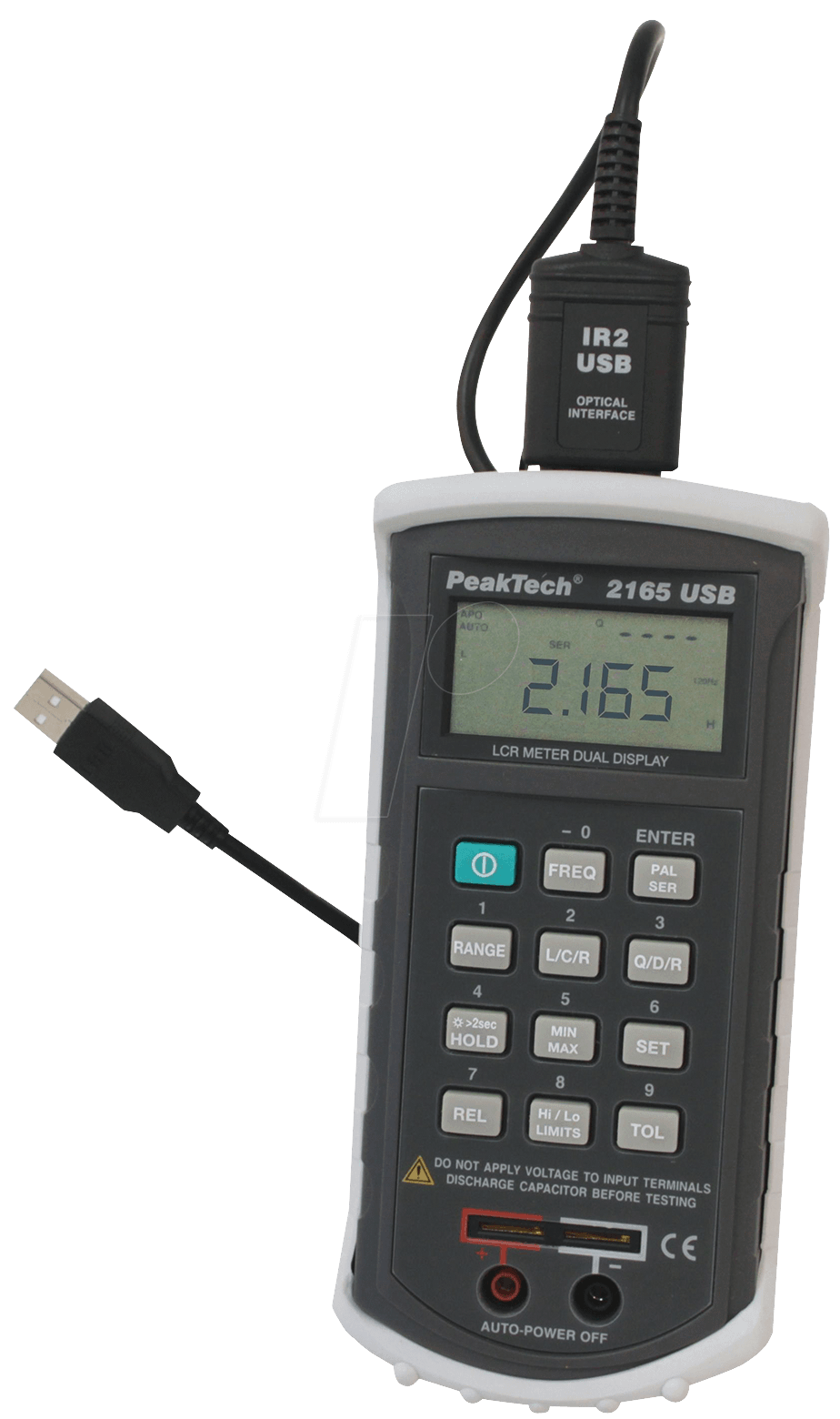 PeakTech 2165 digital LCR measuring instrument with USB PEAKTECH 2165