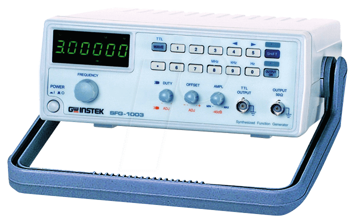 SFG-1003 - DDS Function Generator, 0 1 Hz to 3 MHz