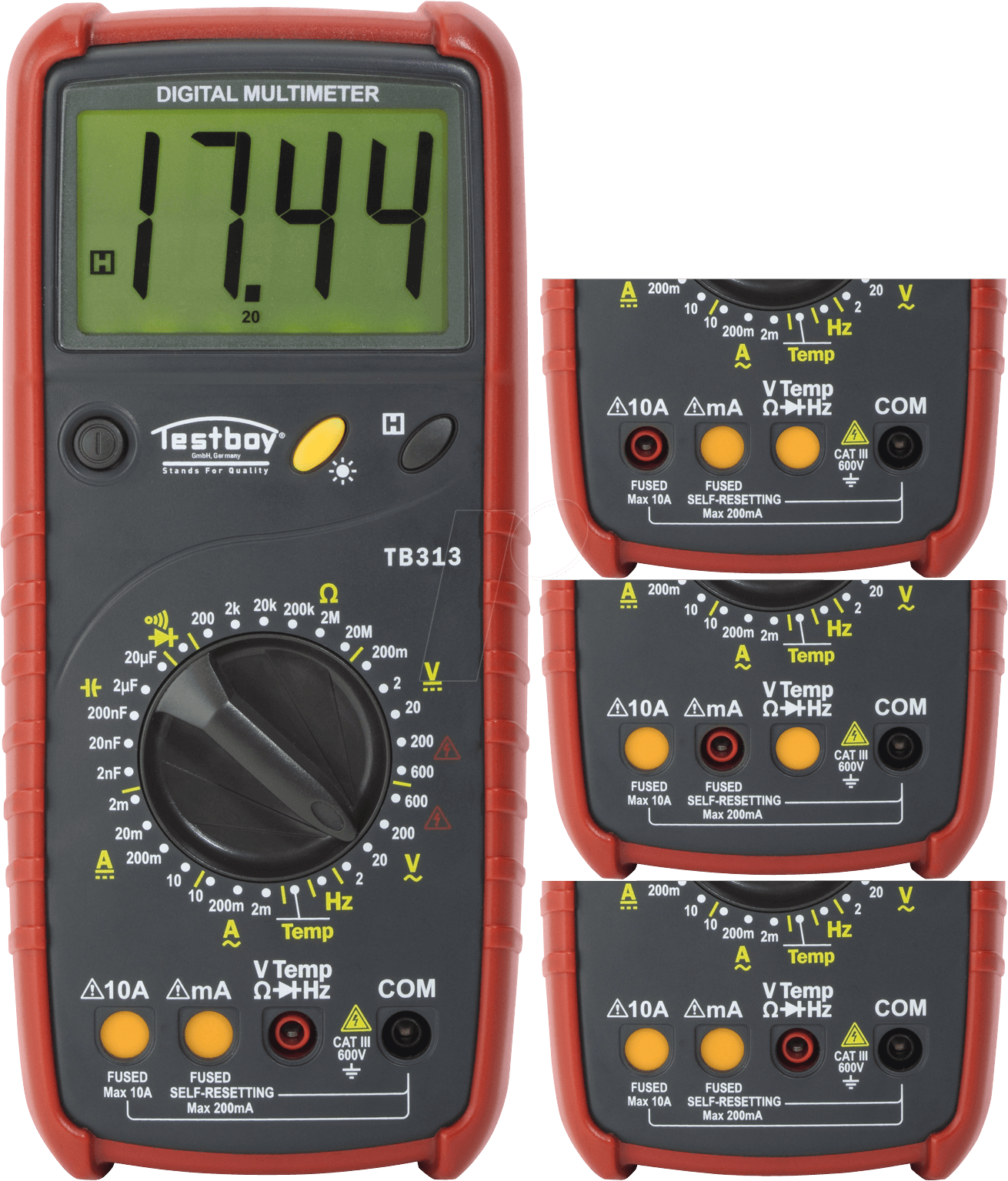 Testboy Testboy TB 313-Digital Multimeter 20 x 28 50 x 8 50 mm