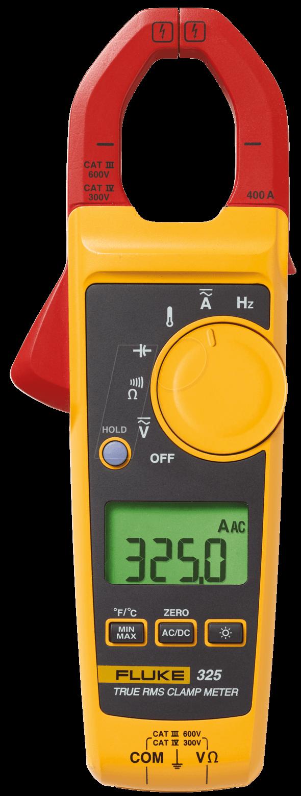 Fluke Multimeter Clamp On : Fluke true rms clamp meter at reichelt
