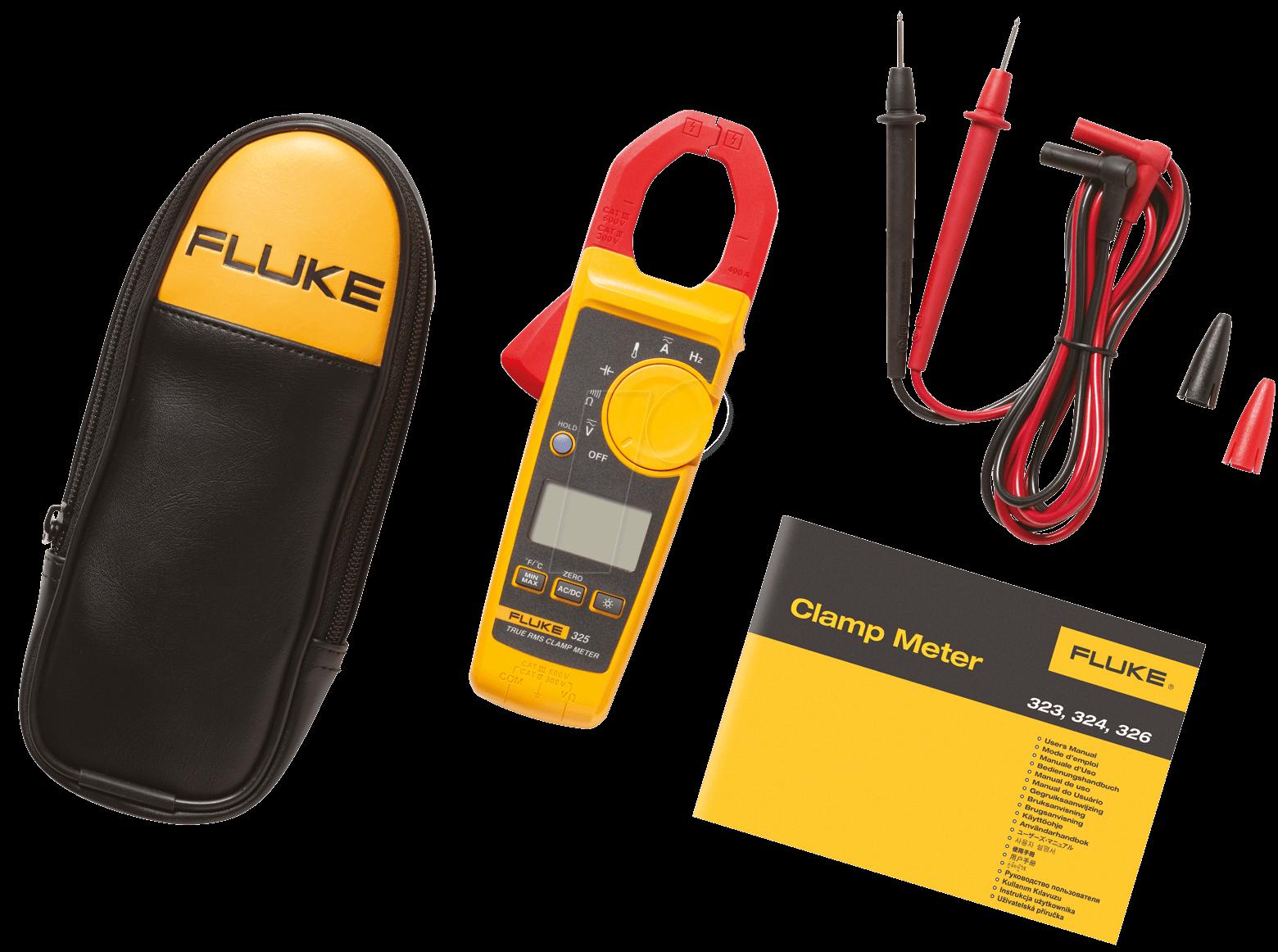 Fluke Multimeter Clamp On : Fluke true rms current clamp meter at