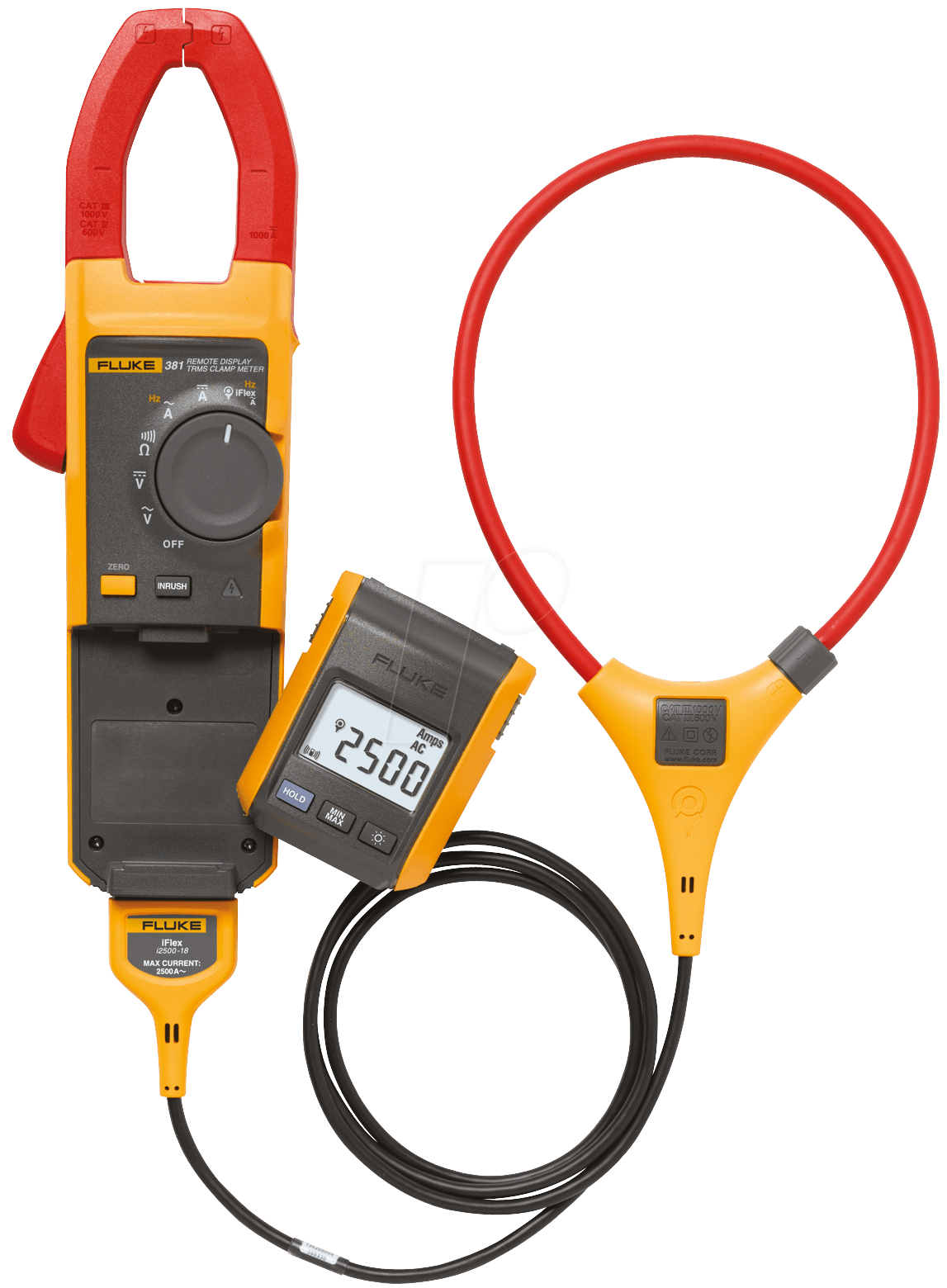 Fluke Clamp Meter : Fluke trms clamp meter with removable display at