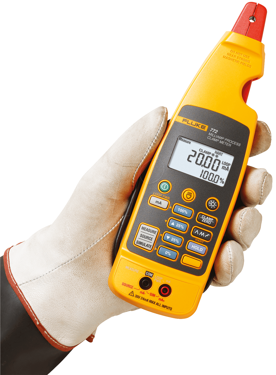 fluke 772 ma process clamp meter at reichelt elektronik. Black Bedroom Furniture Sets. Home Design Ideas
