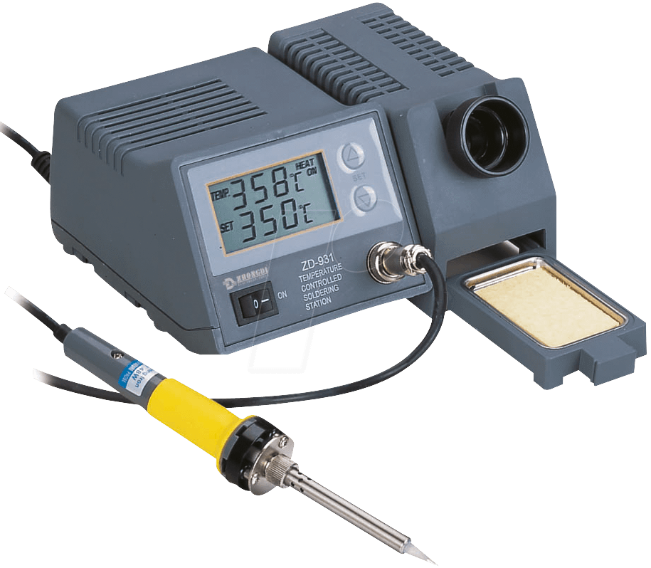 Digital Soldering Station : Station zd digital soldering  watt