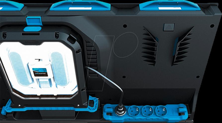 blucave 7060529 aufbewahrungssystem 4 fach steckdose bei reichelt elektronik. Black Bedroom Furniture Sets. Home Design Ideas