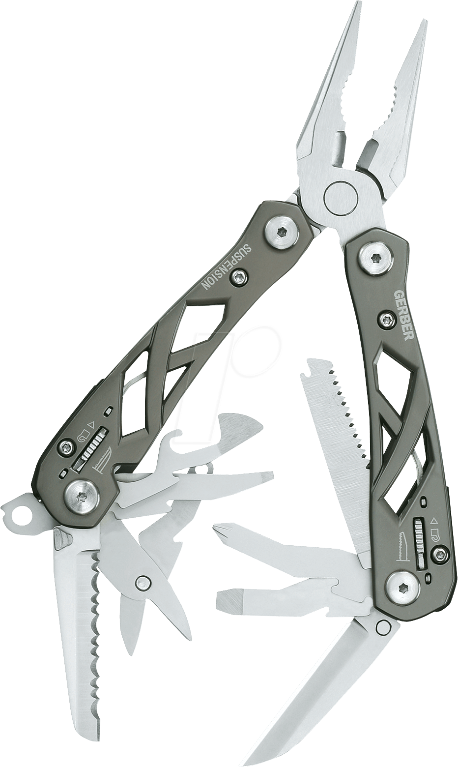 GERBER MT SUSP - Multitool, 9 in 1, 100 mm