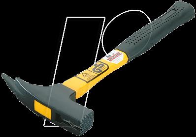 Latthammer M Roofing Hammer With Fibreglass Handle 600 G