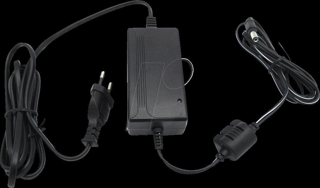 RND 320-00031 - Steckernetzteil, 27 W, 12 V, 2,25 A, stabilisiert, 2,1 mm