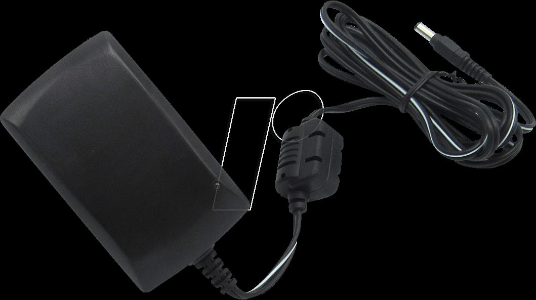 RND 320-00039 - Steckernetzteil, 27 W, 24 V, 1,12 A, stabilisiert, 2,1 mm