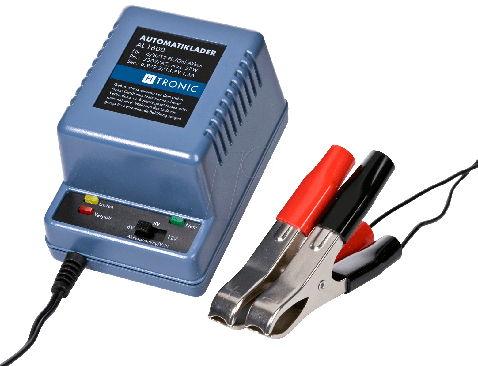AL 1600 - AL 1600 automatic charger for 6 - 8 - 12 V