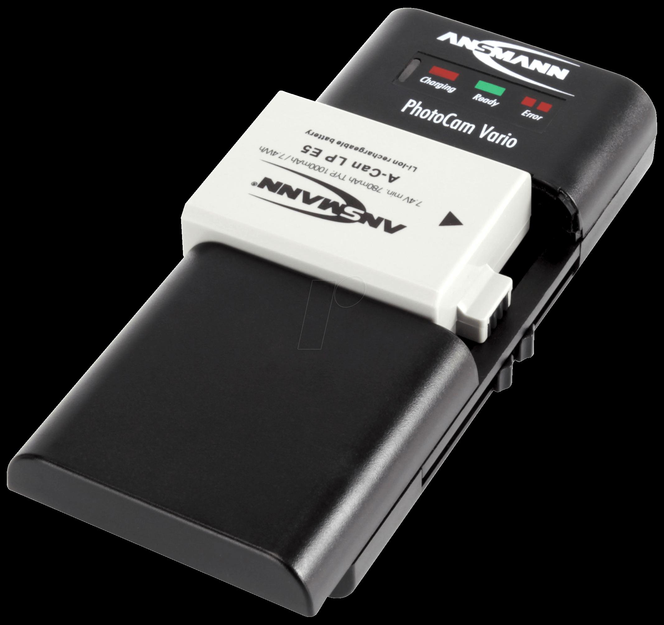 ANS 1001-0019 - Ladegerät PhotoCam Vario, für Akkupacks und Akkus