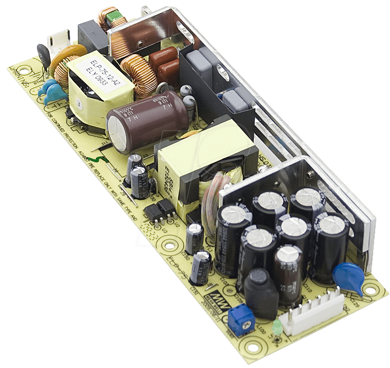ELP 75-12 - Open-Frame-Schaltnetzteil, 12V / 6,25A