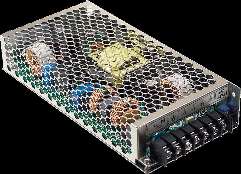 MW HRP-200-12 - Schaltnetzteil, PFC, 200W, 12V/16,7A