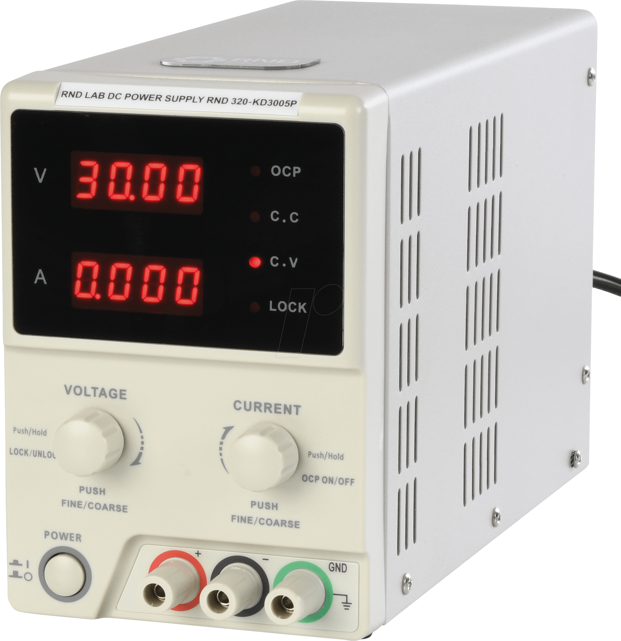 Rnd 320 Kd3005p Laboratory Power Supply 0 30v 0 5a