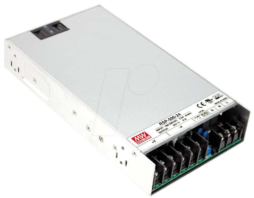 SNT RSP-500-12 - Schaltnetzteil, slim, 500,4W, PFC, 12V / 41,7A