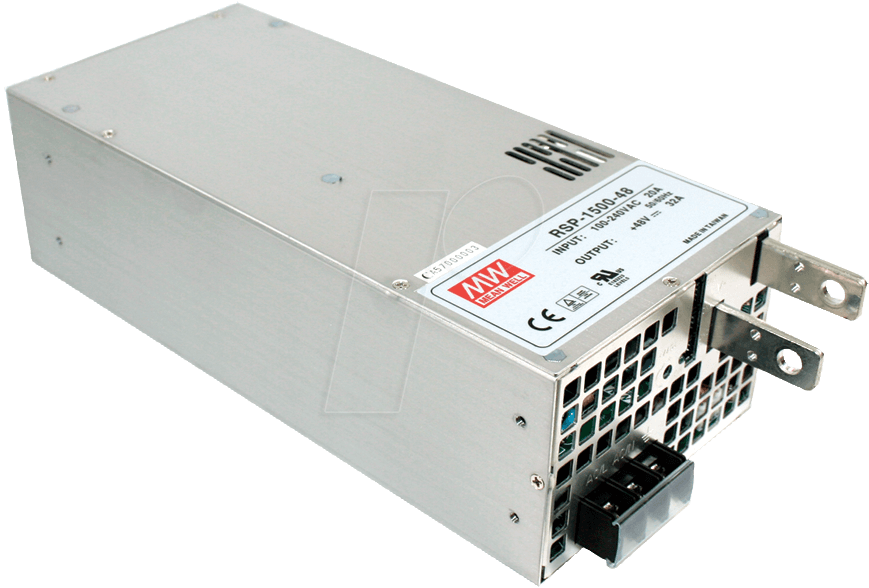 MW RSP-1500-12 - Schaltnetzteil, PFC, 1500W, 12V/125A