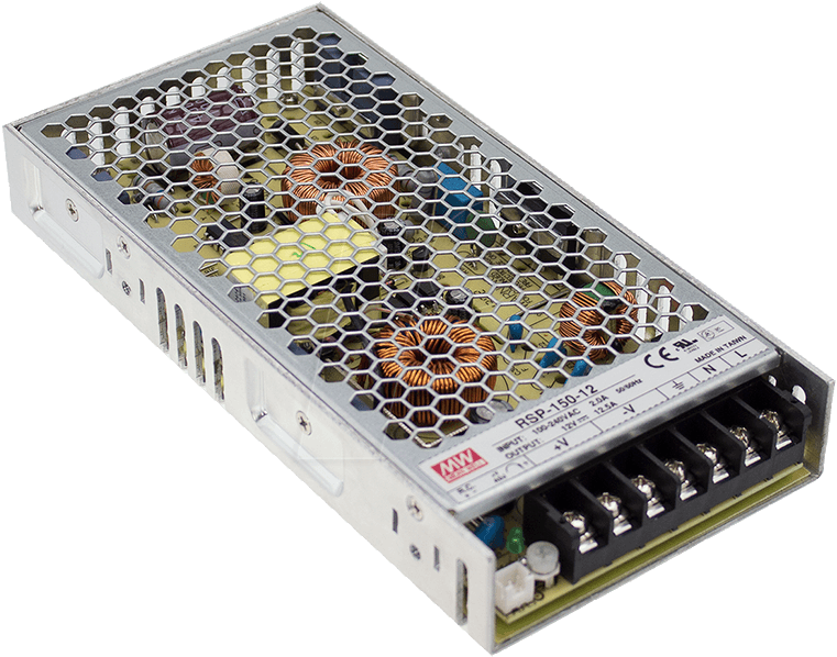 MW RSP-150-12 - Schaltnetzteil, PFC, 150W, 12V/12,5A