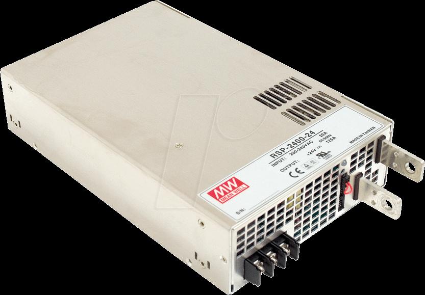 MW RSP-2400-12 - Schaltnetzteil, PFC, 2000W, 12V/168A