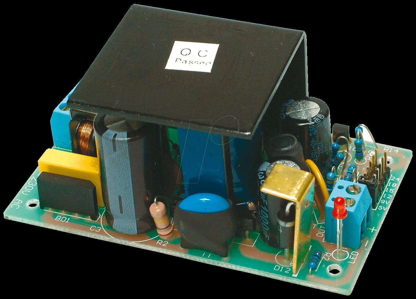 SP 1500: Schaltnetzteil, Open-Frame, 5 - 24 V, 1,5 A bei reichelt ...