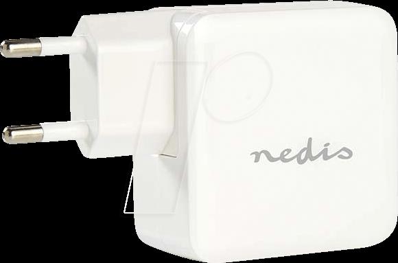 N WCHAU483AWT - USB-Ladegerät, 5 V, 4800 mA, weiß, 2-Port