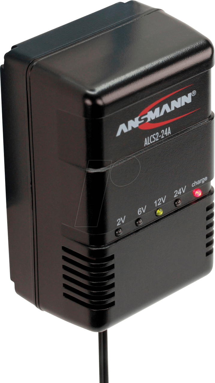 Ansmann Bleiakku Ladegerät ALCS 2 24 A 2 V, 6 V, 12 V, 24 V