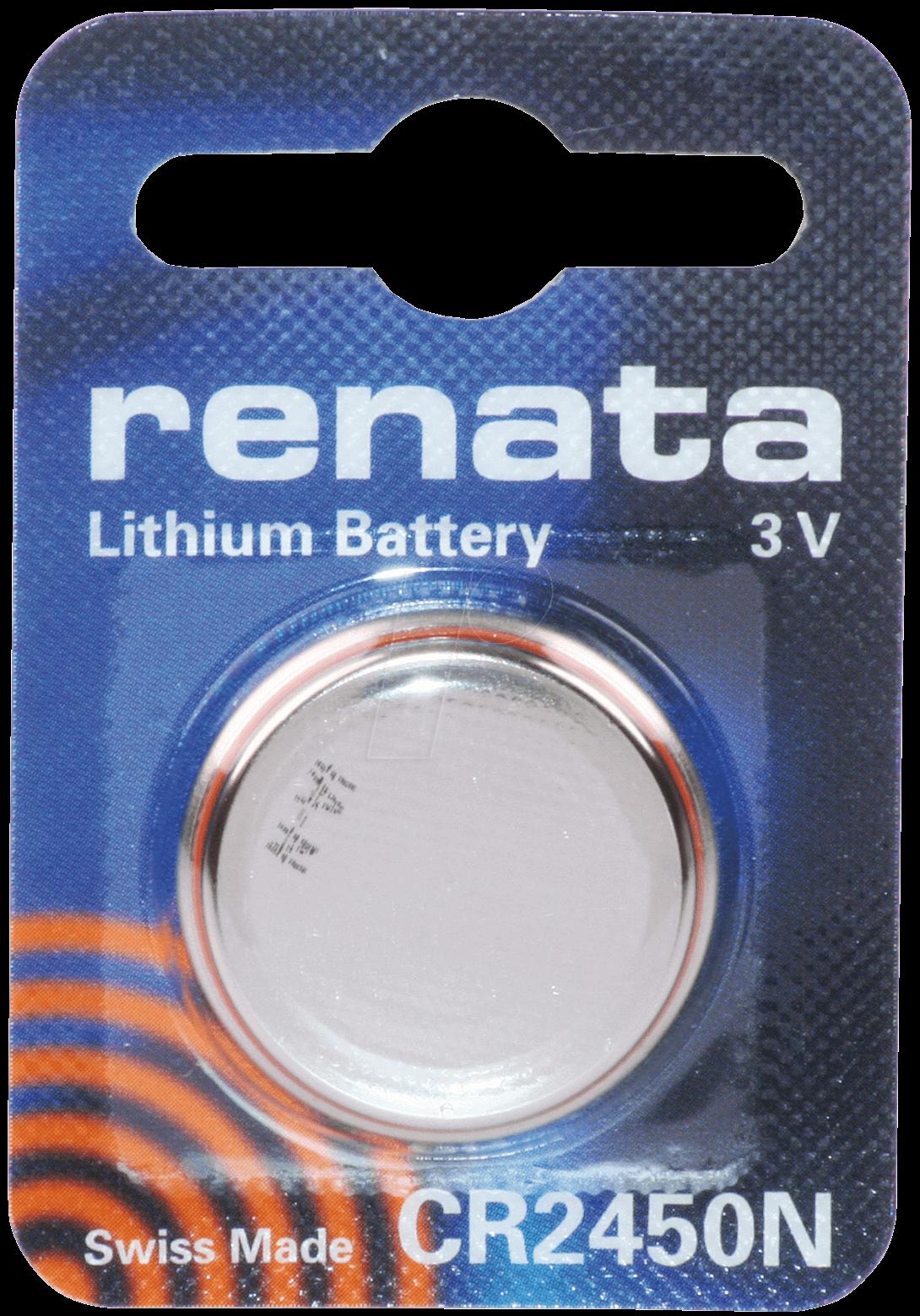 CR 1225 REN - Lithium-Knopfzelle, 3 V, 38 mAh, 12,5x2,5 mm