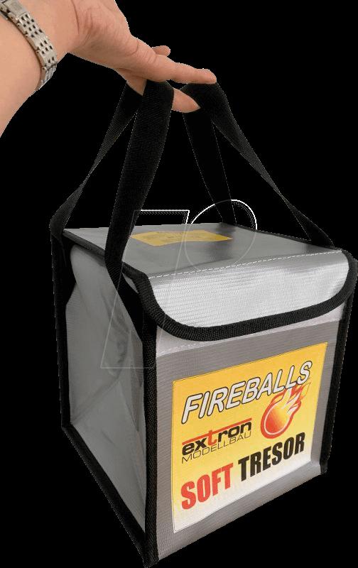 EXTRON X3363 - Lithium safe, incl  fireballs 3x 1L