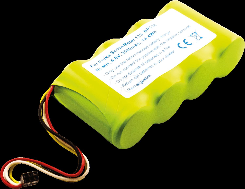 AKKU 30454 - Werkzeugakku für Fluke ScopeMeter, 4,8 V