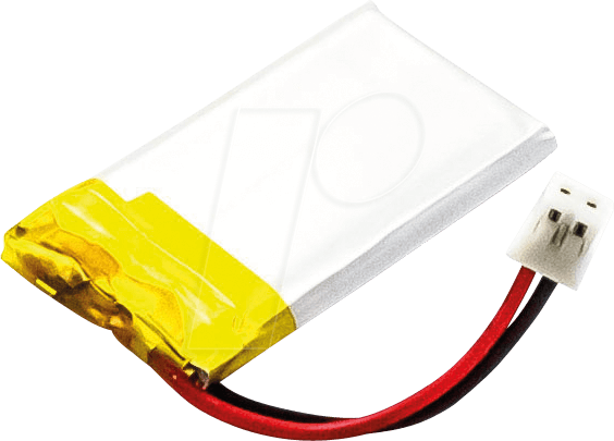 AKKU 30634 - MP3-Player Akku für Philips-Geräte, Li-Ion, 210 mAh