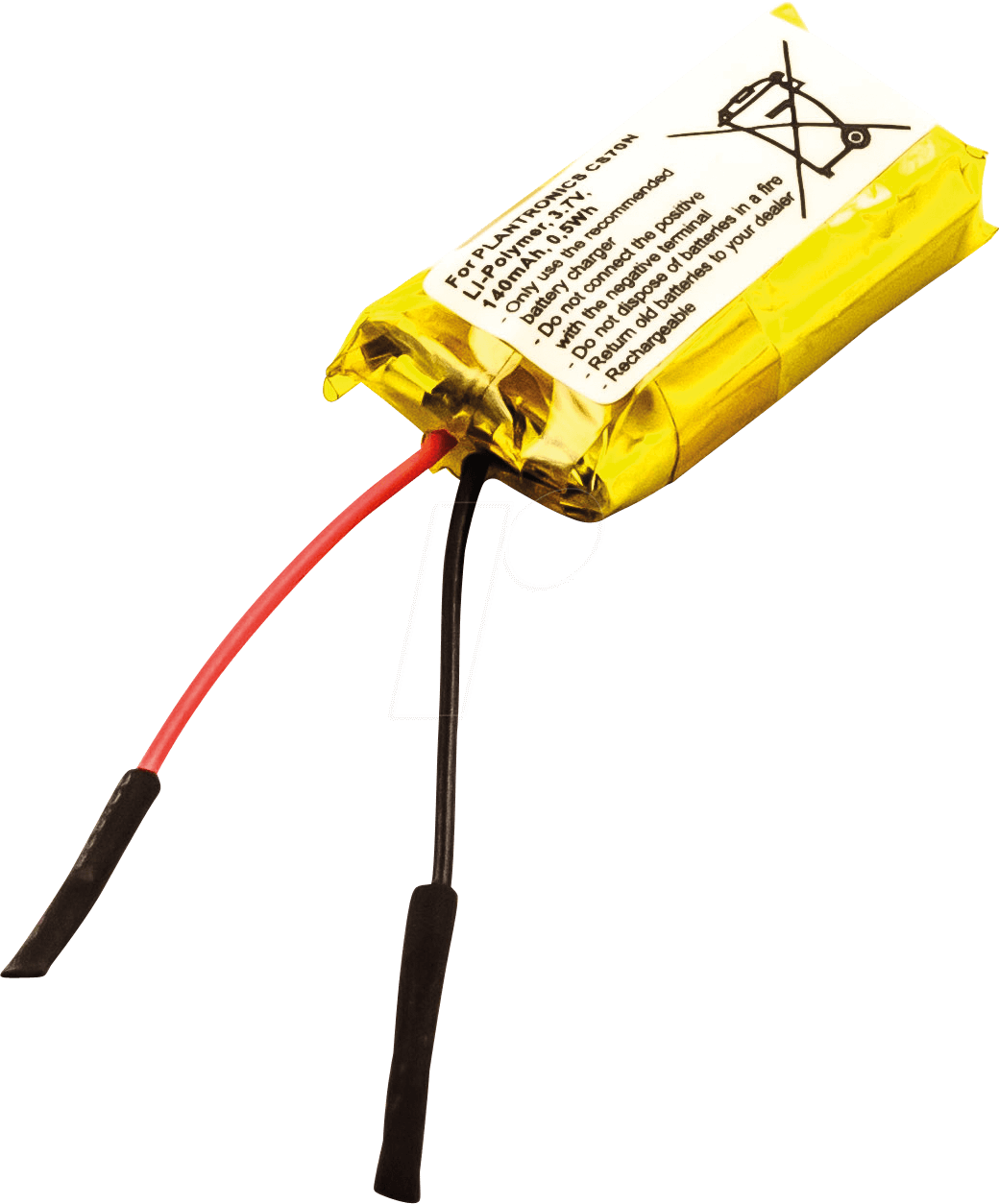 AKKU 30851 - Headset-Akku für Plantronics-Geräte, Li-Po, 140 mAh