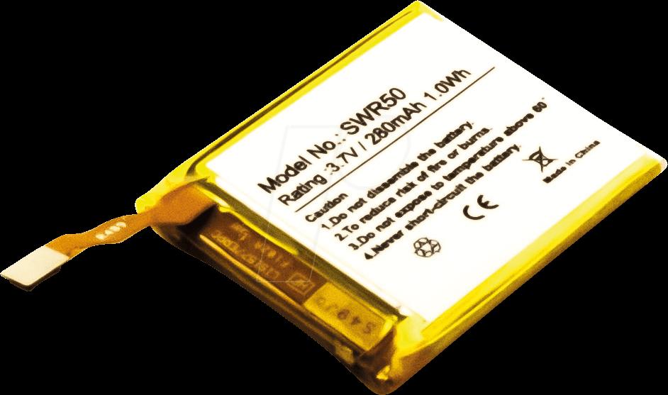 AKKU 30950 - Ersatzakku, Sony SmartWatch 3 SWR50, Li-Po, 280 mAh