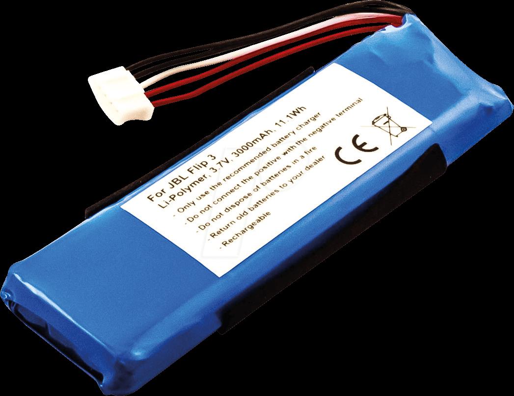 AKKU 30959 - Battery for JBL Flip 3, Li-Po, 3000 mAh