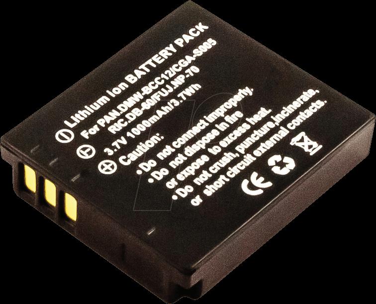 AKKU 40748 - Akku, Digitalkamera, kompatibel, 1000 mAh