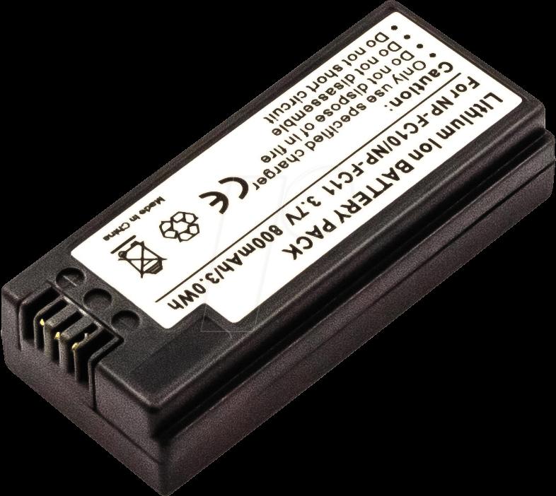 AKKU 40890 - Akku, Digitalkamera, kompatibel, 800 mAh