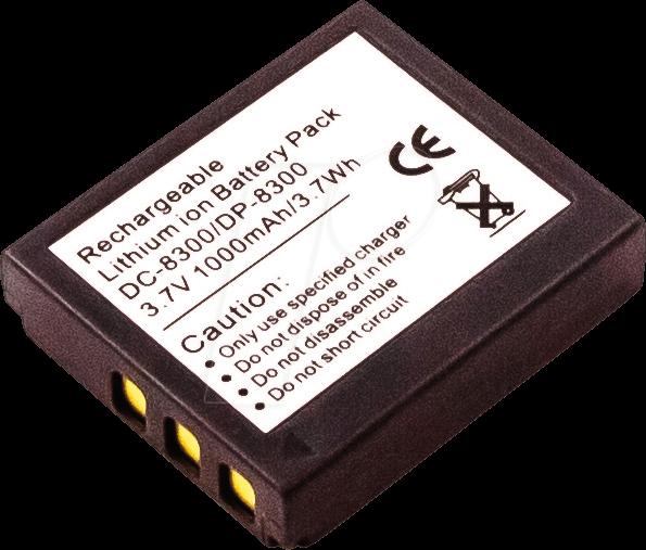 AKKU 42920 - Akku, Digitalkamera, kompatibel, 1000 mAh