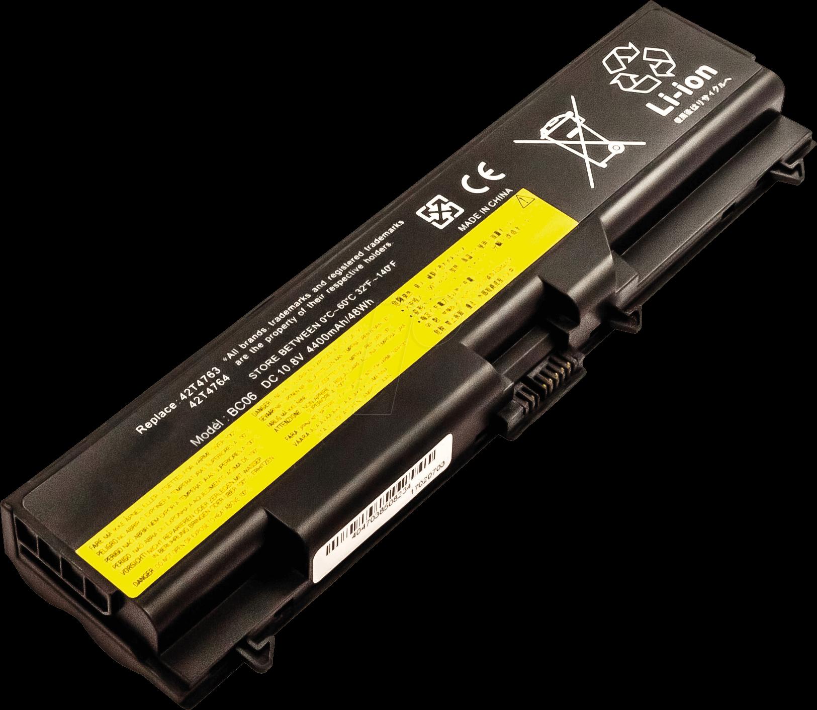 AKKU 50823 - Laptop battery for Lenovo, Li-Ion, 4400 mAh