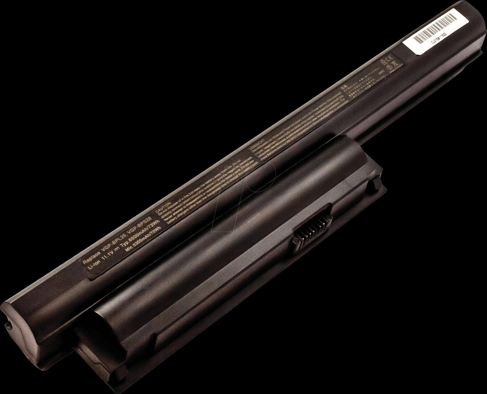 AKKU 53615 - Notebook-Akku für Sony, Li-Ion, 6600 mAh