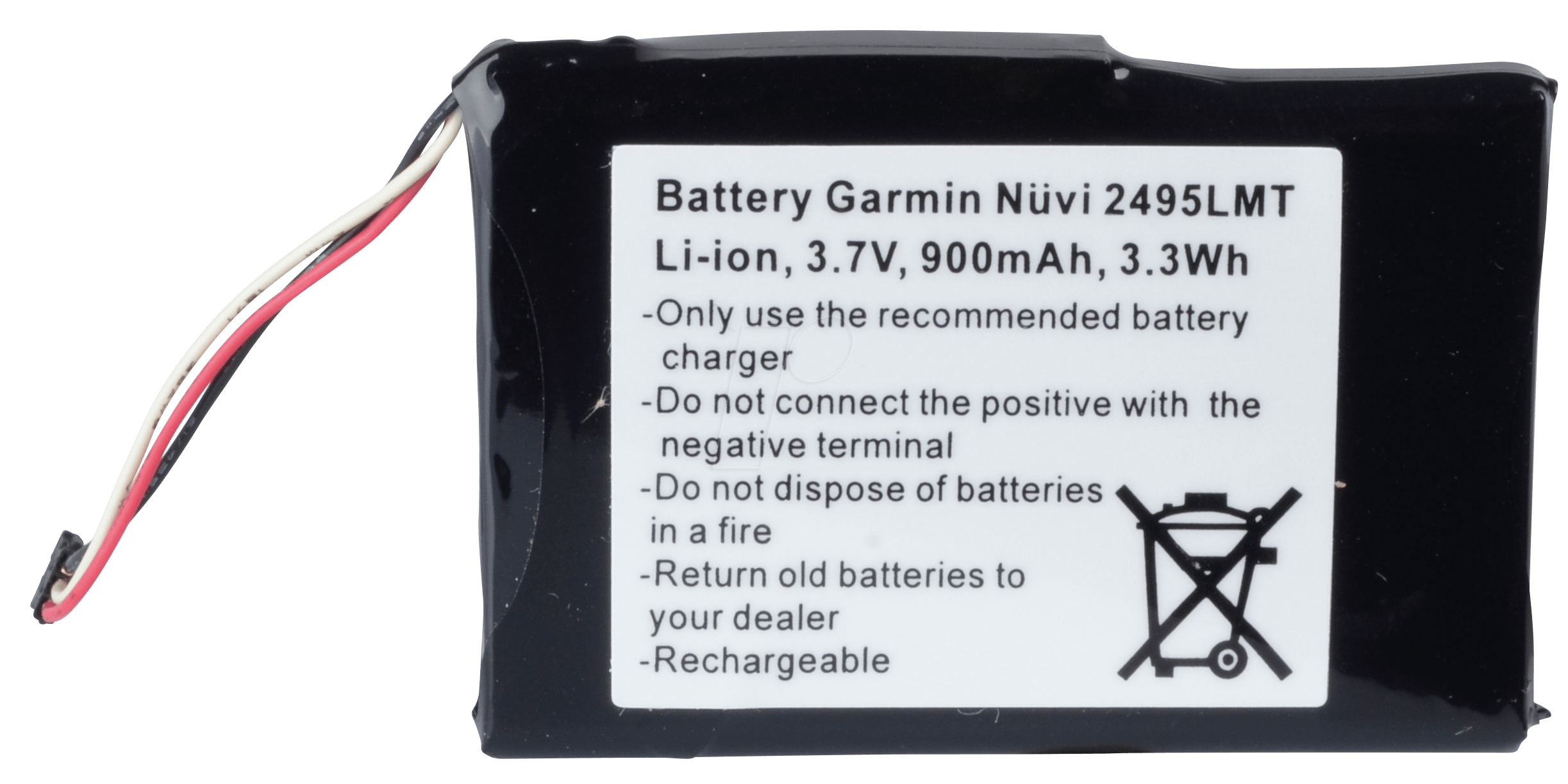 akku gps gar9 gps navigation battery for garmin n vi. Black Bedroom Furniture Sets. Home Design Ideas
