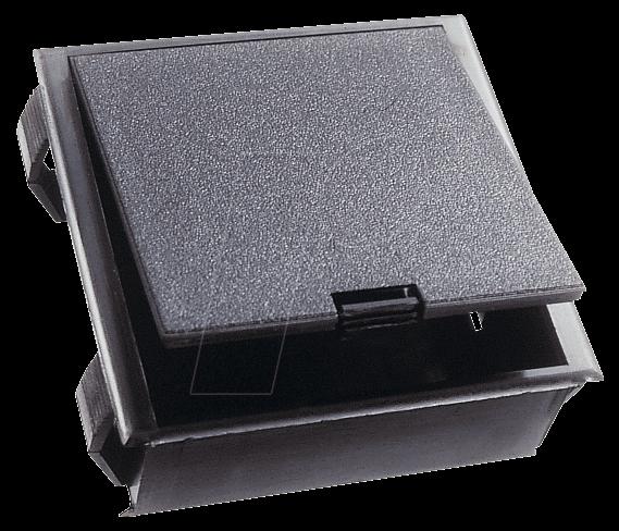Halter 2x9v battery holder for 2x 9v block or 4x mignon