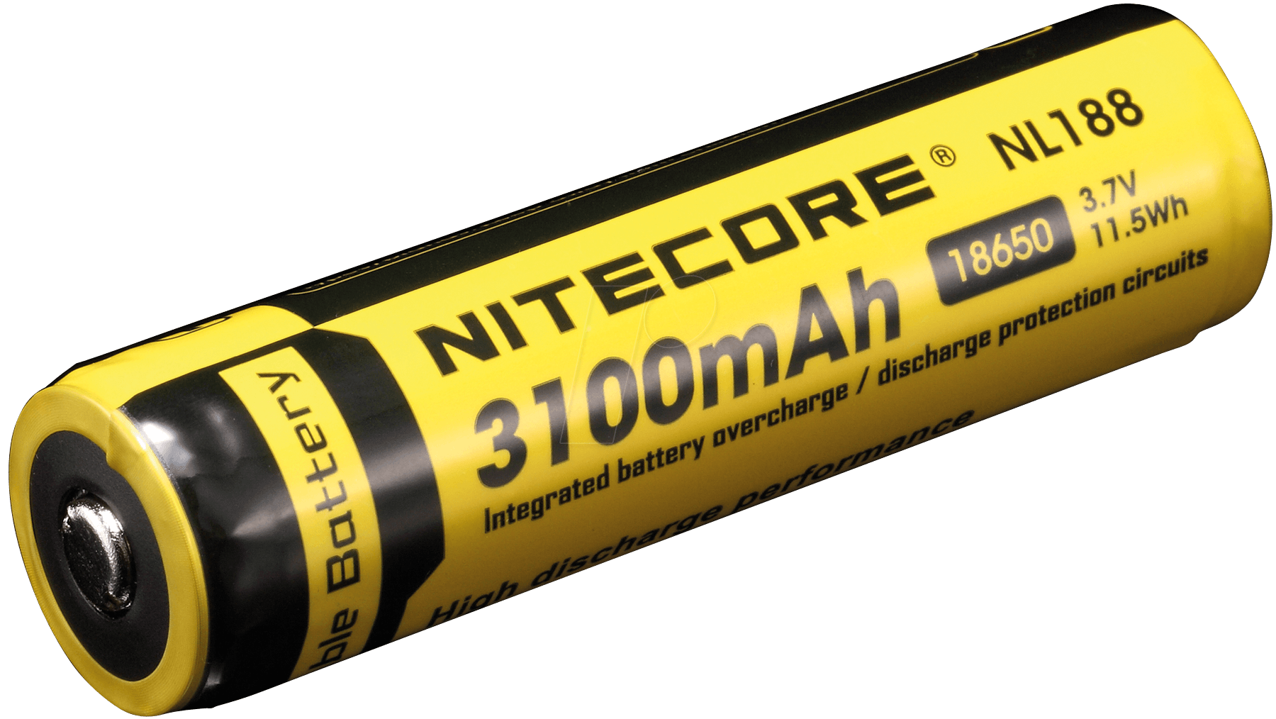 Nc Nl188 Nitecore Li Ion 18650 Cell With Pcb 3100 Mah At Reichelt Protection Circuit Images Elektronik