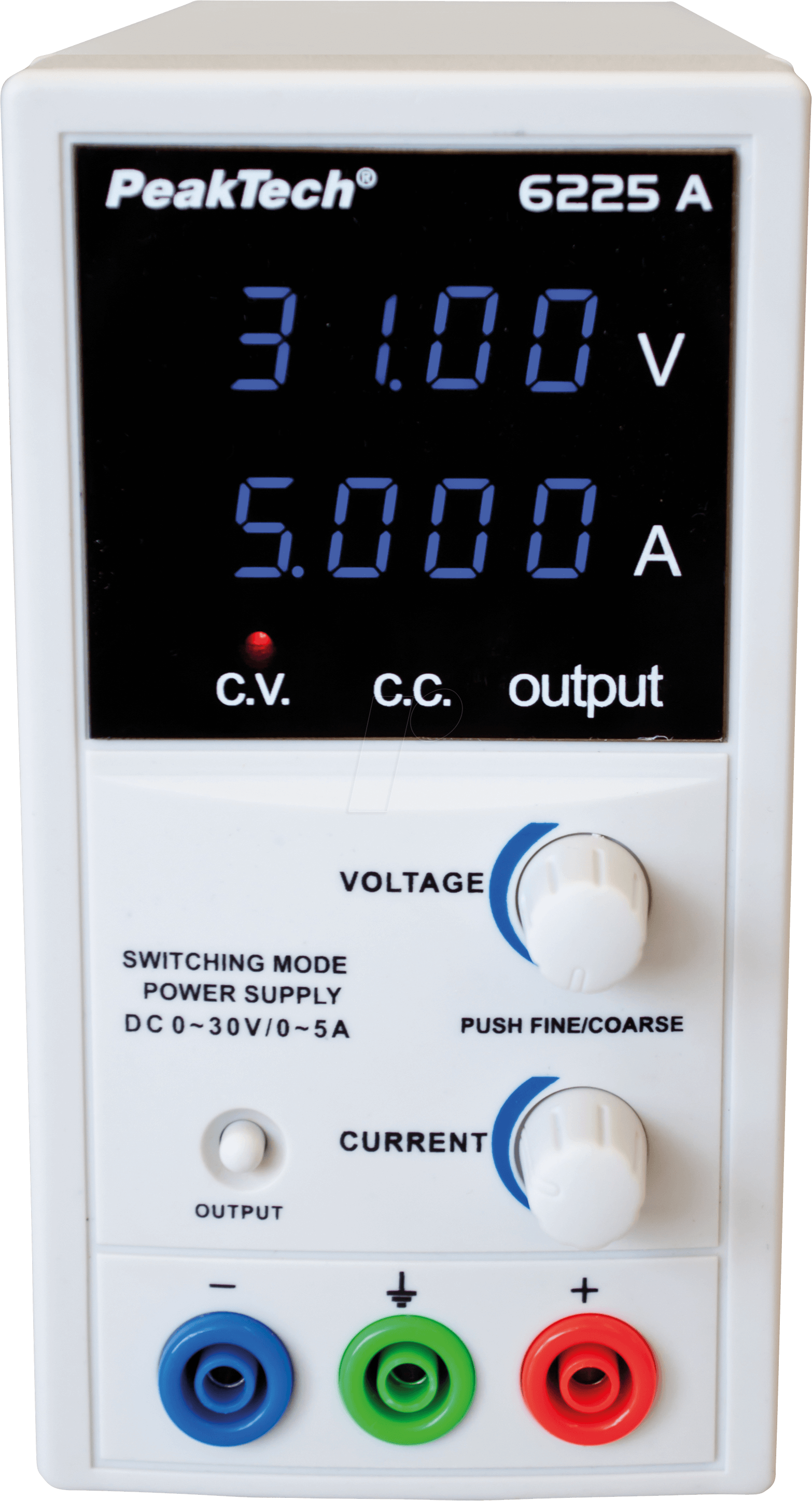 PEAKTECH 6225 A: Laboratory Switching Mode Power Supply