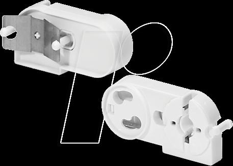 HGM 2624981 - Lampenfassung für Leuchtstoffröhren, G13