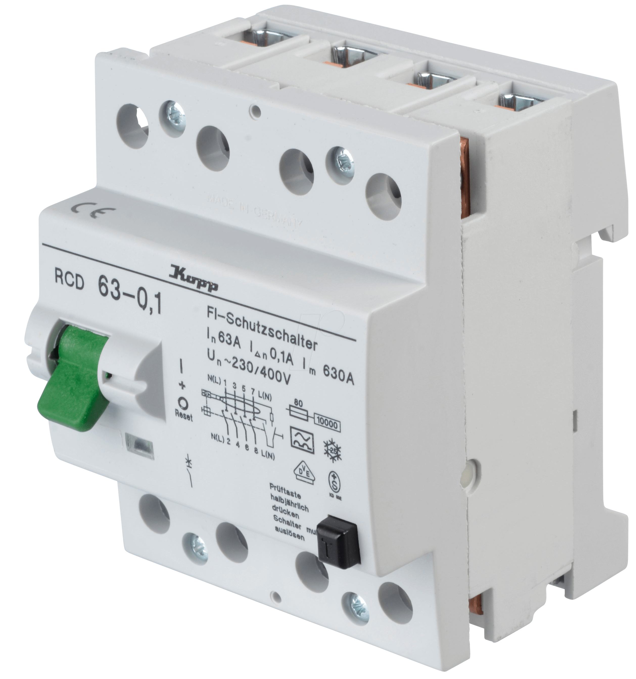 Rcd Fuse Box Price : Rcd  pole  a ma at reichelt